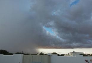 Orage Djerba Orage dans le ciel de Djerba