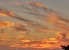 Ciel Saint-Jean-de-Monts 85160 Coucher du soleil sur le golf de st jean de monts