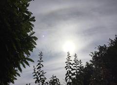 Nuages Mours-Saint-Eusebe 26540 Soleil voilé cette après-midi