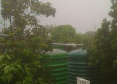 Pluie Saint-Francois 97118 Orage et pluie