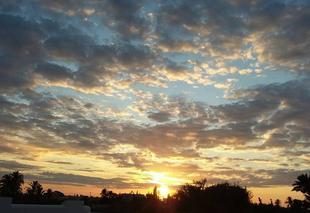 Ciel Djerba Coucher de soleil à  Djerba