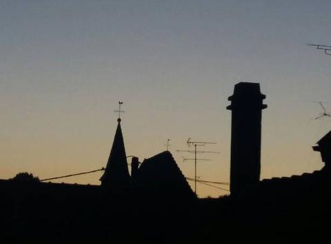 Vers le soir en Alsace.