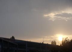 Nuages Chatillon-sur-Thouet 79200 Coucher de soleil
