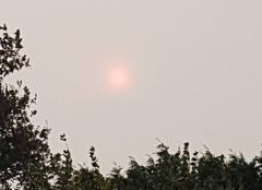 Ciel Plessala 22330 Soleil rouge