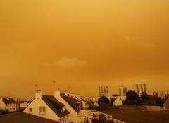 Ciel Lorient 56100 Curieux ciel à Lorient....