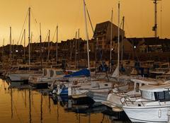 Insolite La Turballe 44420 Phénomène météo : ciel jaune