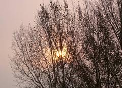 Ciel Saint-Lunaire 35800 Luminosité étrange à midi
