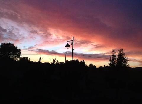 Lever de soleil en Charente