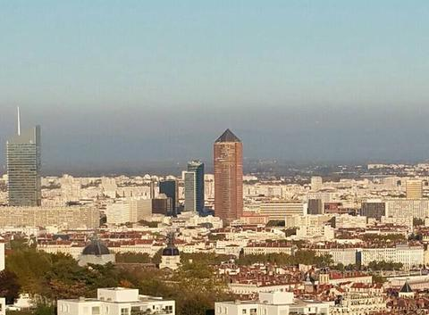 Pollution sur Lyon