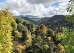 Climat Saint-Front 43550 Paysage d'automne