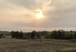 Ciel Courvaudon 14260 Soleil levant