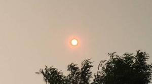 Ciel Calonne-Ricouart 62470 Soleil rouge