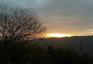 Ciel Mercuer 07200 Levé de soleil