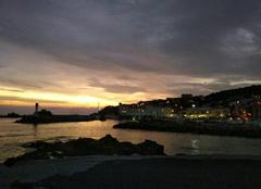 Nuages Banyuls-sur-Mer 66650 Levé du jour