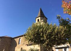 Ciel Mours-Saint-Eusebe 26540 Eglise moursoise sous le soleil