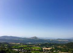 Chaleur Saint-Michel-de-Chaillol 05260 Vue panoramique de chaillol 1600