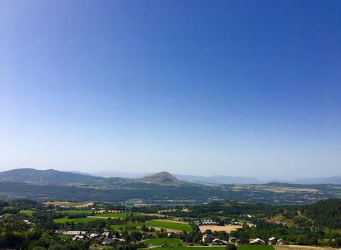 Vue panoramique de chaillol 1600