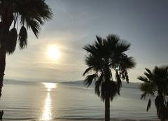 Mer Antibes 06160 Coucher de soleil