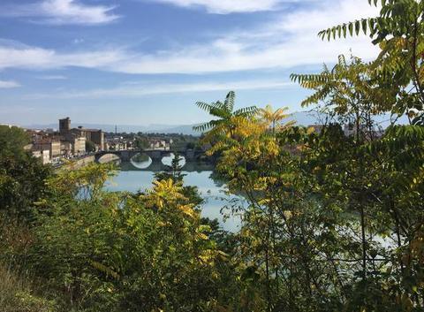 Couleurs d'automne sur l'Isère