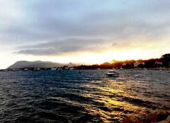 Ciel La Seyne-sur-Mer 83500 Crépuscule sur la petite mer