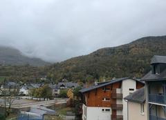 Climat Saint-Lary-Soulan 65170 Ciel encombré de nuages à St Lary Soulan,Hautes Pyrénées