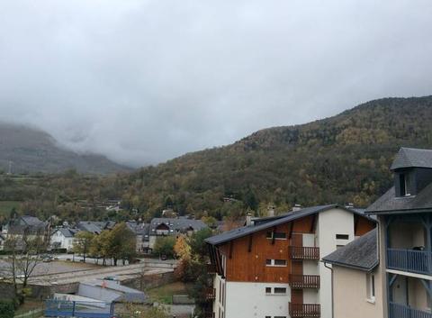 Ciel encombré de nuages à St Lary Soulan,Hautes Pyrénées