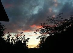 Ciel Limoges 87100 Coucher de soleil