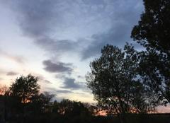 Ciel Romans-sur-Isere 26100 Crépuscule