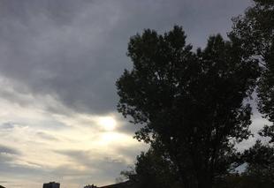 Ciel Romans-sur-Isere 26100 Ciel voilé cette après-midi