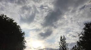 Ciel Mours-Saint-Eusebe 26540 Ciel voilé