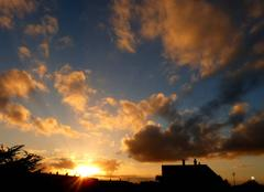Ciel Niort 79000 Joli coucher de soleil