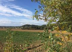 Ciel Mours-Saint-Eusebe 26540 L'automne en campagne