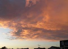 Ciel Le Perreux-sur-Marne 94170 L'automne .. et ses couchers de soleil !!!