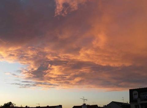 L'automne .. et ses couchers de soleil !!!