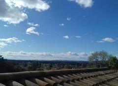 Ciel Donzere 26290 Un beau soleil avec les nuages