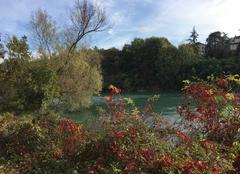 Ciel Romans-sur-Isere 26100 L'automne sur l'Isère