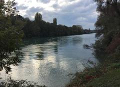 Nuages Romans-sur-Isere 26100 L'automne sur l'Isère