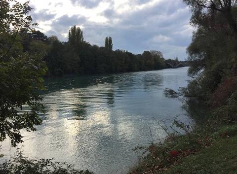 L'automne sur l'Isère