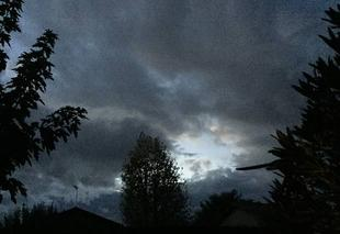 Ciel Mours-Saint-Eusebe 26540 Apocalypse tonight