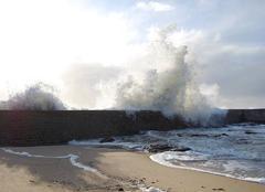 Tempête Batz-sur-Mer 44740 Port St Michel