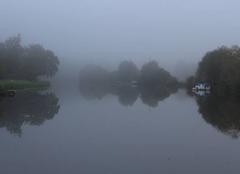 Brouillard Bourg-des-Comptes 35890 Brume sur la Vilaine