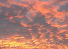 Ciel Saint-Germain-Laprade 43700 Coucher de soleil
