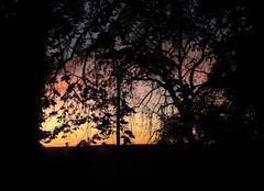 Ciel Estivareilles 03190 Coucher de soleil au dessus d'Estivareilles  (03)