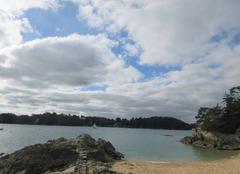 Ciel Saint-Malo 35400 Uuelques nuages mais douceur
