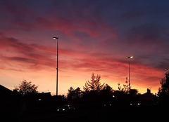Ciel Tassin-la-Demi-Lune 69160 Le ciel est en feu !