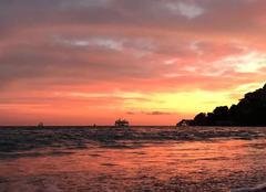 Ciel Roquebrune-Cap-Martin 06190 Douce soirée d?automne