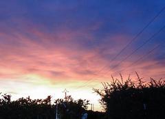 Ciel La Londe-les-Maures 83250 Coucher de soleil