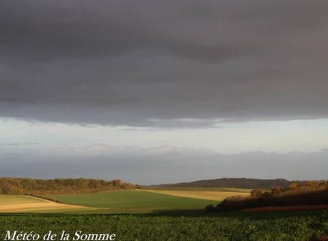 Une fin d'après-midi ensoleillée sur la Somme ...
