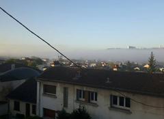 Brouillard Nancy 54000 Nancy sous la brume