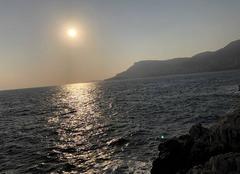 Mer Roquebrune-Cap-Martin 06190 Belle journée d?automne